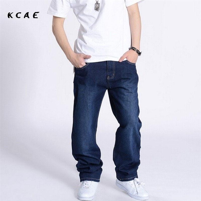 Boy's Dark Blue Baggy Jeans Hip Hop Mens Jeans Hiphop Rap Pants Ad Waist Size 30-46 napapijri guji check dark blue