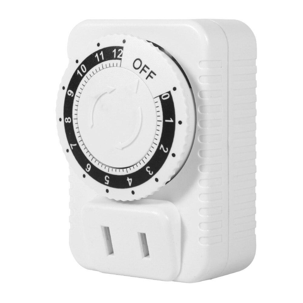 12 Stunde Mechanische Elektrische Timingplug Schalter Sparen Energie Digitale Countdown Timer Steckdose Timer Schalter