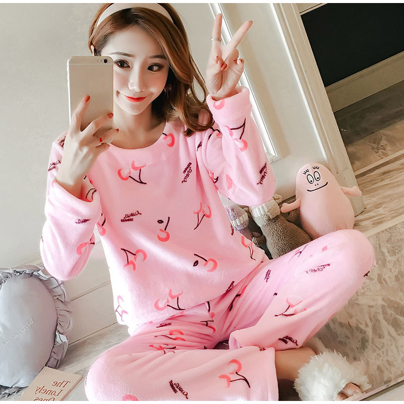 23bb8a6d12 Pajama Sets Cheap Pajama Sets MCCKLE Women Flannel Cute Two Piece.We offer  the best wholesale price