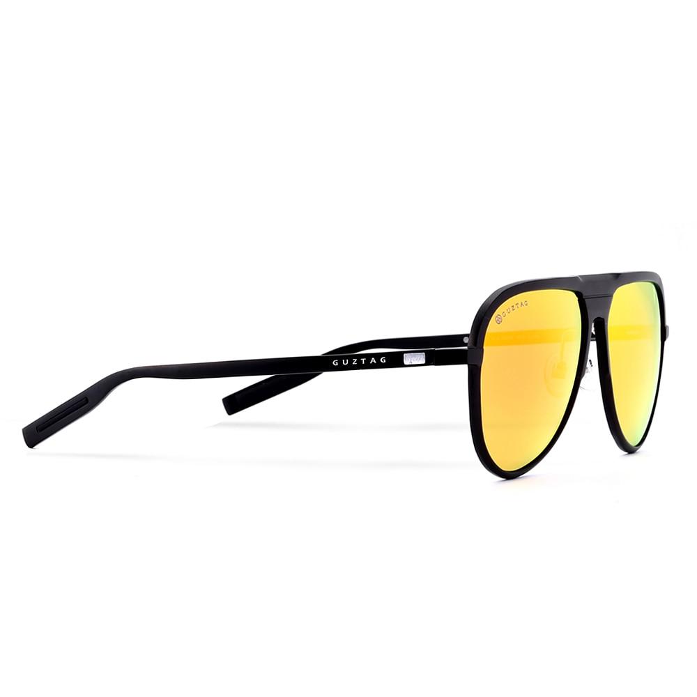 GUZTAG Unisex Classic Brand Män Aluminium Solglasögon HD - Kläder tillbehör - Foto 6