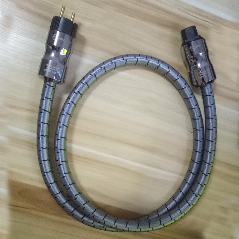 hifi audio CD amplifier power cables EU AU Plug Power line KRELL fever EU AC power