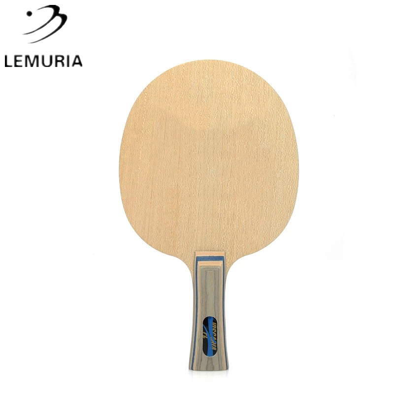Professional Carbon Fiber Table Tennis Racket Blade 5 Layers Pure Wood And 2 Layers Arylate Carbon Viscaria FL Ping Ping Balde