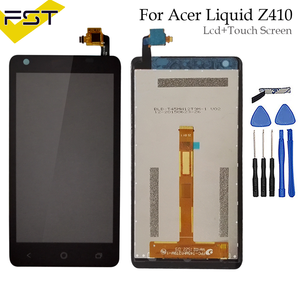 100% Tested lcd For Acer Liquid Z410 LCD Display + Touch Screen Digitizer Assembly Replacement Parts+ Tools100% Tested lcd For Acer Liquid Z410 LCD Display + Touch Screen Digitizer Assembly Replacement Parts+ Tools