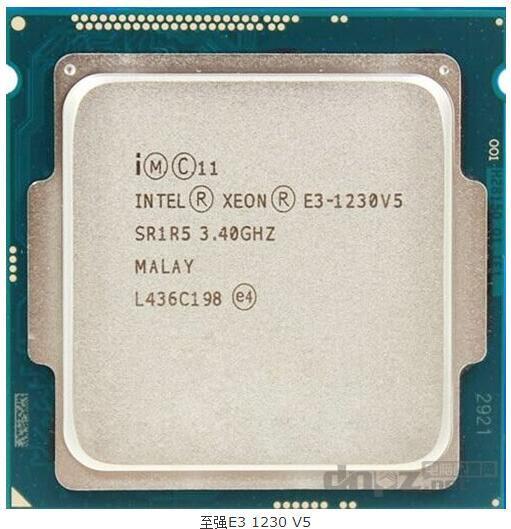 Новый оригинальный Intel xeon E3-1230V5 разрозненных CPU LGA1151 DDR4 3.4 ГГц