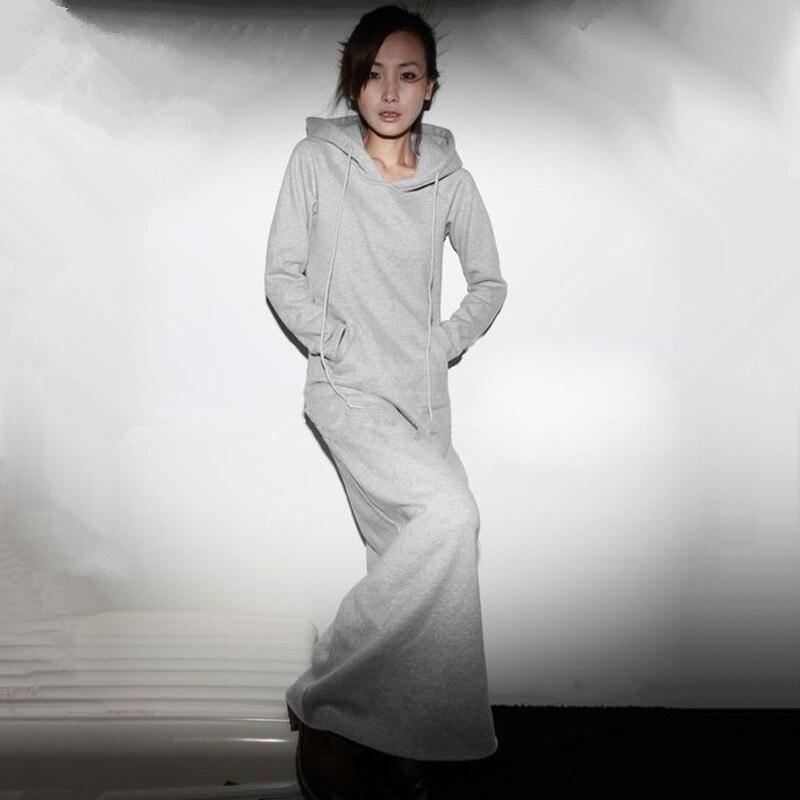 Nemokamas pristatymas 2019 m. Naujos mados suknelės ilgomis - Moteriški drabužiai - Nuotrauka 2