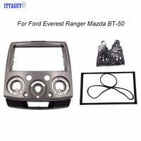 178x100MM Stereo Panel for Everest Ranger Mazda BT 50 Radio Dash Mount Installation Trim Kit Fascia Face Plate Bezel