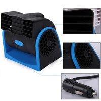 12V Car Auto Air Cooling Fan Adjustable Silent Car Fan Car Cooler Truck Cooling Fan Car Accessories