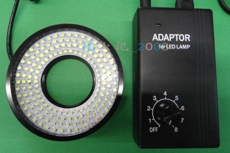 40mm Inner Diameter White Light 160 pcs LED Lights Ring Lamps Microscope Light for Industrial Video Microscope