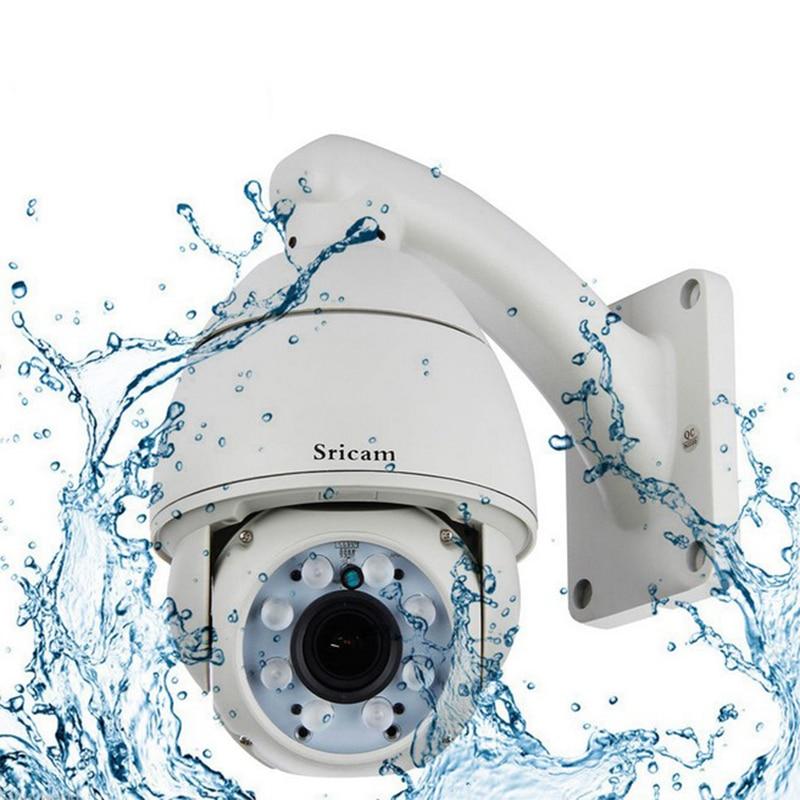 Sricam SP008 IP Camera Wi-Fi Wireless Outdoor Waterproof HD Surveillance Kamepa Night Vision 5X Optical Zoom TF Card Onvif