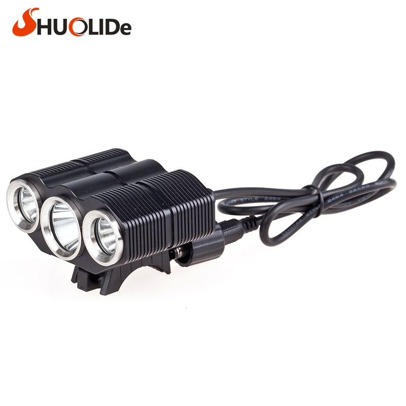 The new headlight glare CREE 3T6 Bicycle Light headlights led headlamp for camping lampe frontale  frontale farol bike linterna glare 30