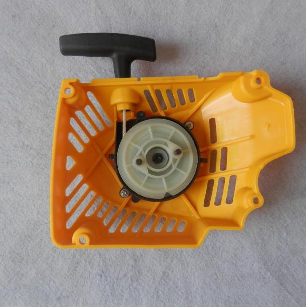 G621 RECOIL STARTER ASSY NYLON RATCHET FOR ZENOAH CHAINSAW 662 G6200 62CC CHAIN SAW PULL START PARTS recoil starter assy steel ratchet for yamaha mz175 ef2600 ef2700 pull start assembly 2kw generator parts