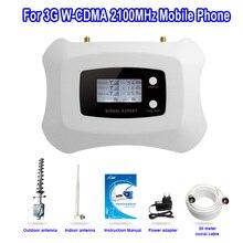 Specailly для России! 3 Г 2100 мГц умный мобильный сигнал повторителя amplfier с Яги 3 г сотовый усилитель сигнала комплект