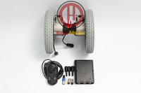 Wholesale Price 24V 180W 12 Brushless Electric Wheelchair Conversion Kits With Electric Magnet Braking