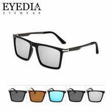 04dc22829b High Grade Vintage Men Mirror Polarized Driving Sunglasses Fashion Retro  Flat Top Rectangle Sun Glasses Women For Shopping 7035K