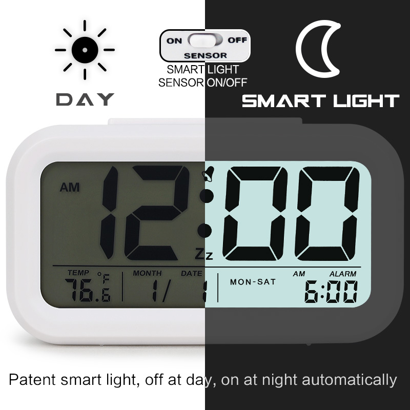 Digital Table Alarm Clock 2