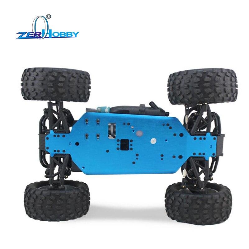HSP RC Auto 1/10 Skala Nitro Power 4wd Off Road Monster Truck 94188 Pivot Ball Aufhängung Zwei Zahnräder Hohe Geschwindigkeit hobby - 3