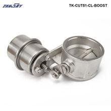 Выпускной клапан управления Boost привод закрытый стиль 51 мм трубы давление около 1 бар для Jeep Wrangler TJ TK-CUT51-CL-BOOST