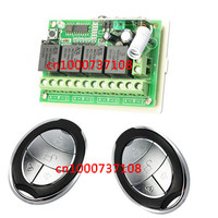 DC12V 4CH Switch Power Supply 315mhz Rf Wireless Push Button Switch Output Way Can Adjsut Momentary
