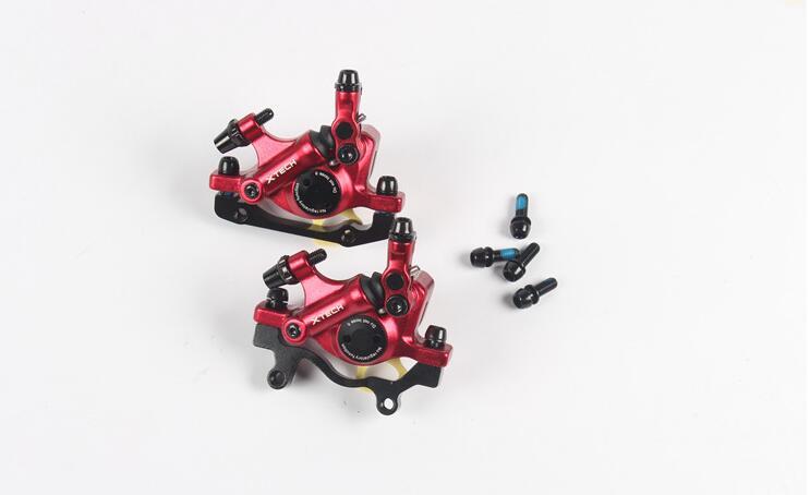 ZOOM vtt vélo frein à disque hydraulique avec rotors ligne tirant route vélo huile frein à disque