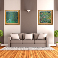 YongHe Home Decorative Oil Painting Vienna Secession Gustav Klimt Landscape 02 Customizable Spray Painting Frameless ink Poster