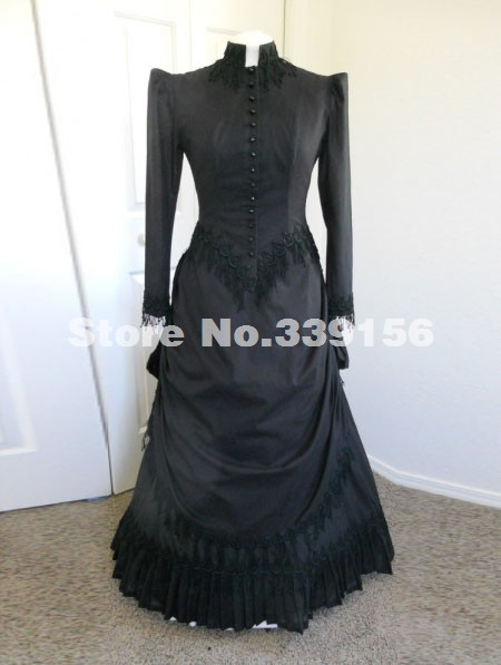 Hot Sale 18th Century Civil War Popular Victorian Bustle Dress Party Ball Gown Dress Halloween and Holiday Weddings