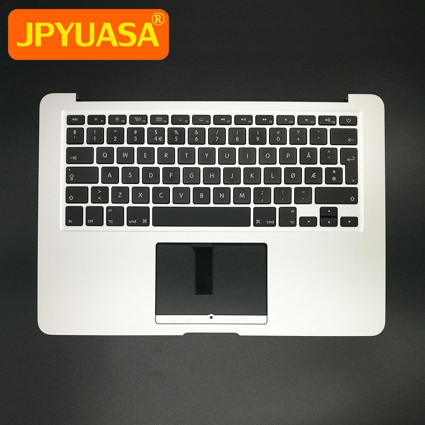New NO Norway Norwegian Top Case Palmrest keyboard with Backlight For MacBook Air 13.3 A1466 2013-2015 Years new topcase with no norway norwegian keyboard for macbook air 11 6 a1465 2013 2015 years