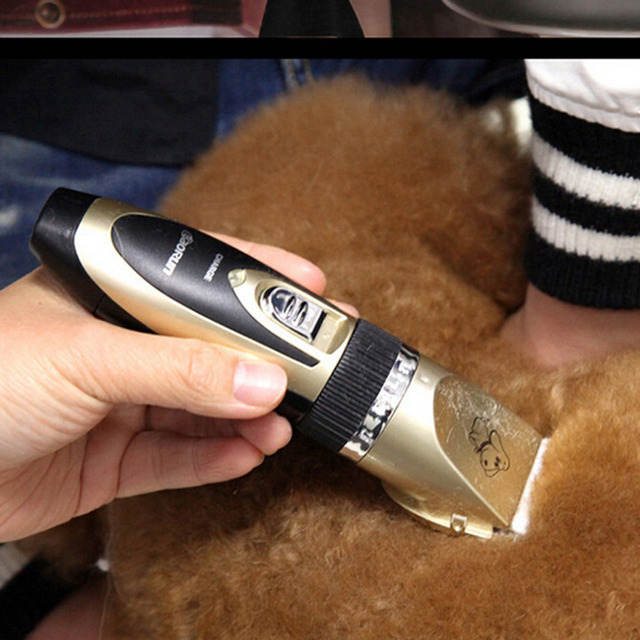 1Pc Strong Power Professional Pet Dog Hair Trimmer Grooming Clipper Animal Hair Remover Kits Stock Offer