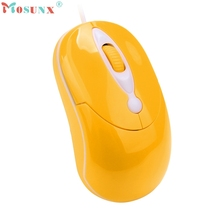 For PC Laptop 1000 DPI USB Wired Optical Gaming Mice Mouses_KXL0223 computer accessories