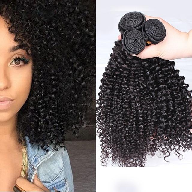 Mongolian Kinky Curly Virgin Hair Human Hair Bundles Mongolian Hair