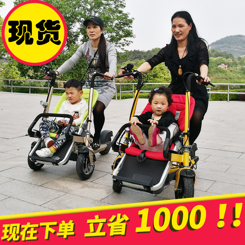 S Nucia high-end baby car car Rhea parent-child couples can ride electric vehicles can be pushed and removable car baby Stroller free shipping four children electric ride on car baby toy car baby stroller child can sit remote control electric cars