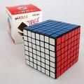 New ShengShou 7 X 7 Cubo mágico profissional PVC e fosco adesivos enigma velocidade brinquedos clássicos aprendizagem e educação de brinquedo Cubo mágico