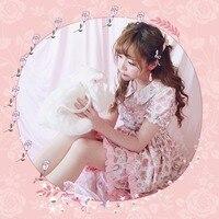 Princess sweet lolita dress BOBON21 girls ice cream & Rose Floral Dress Pegasus D1351