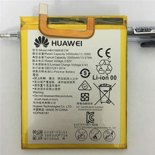 Original battery HB416683ECW Rechargeable Li-ion phone For Huawei Nexus 6P H1511 H1512 3450mAh