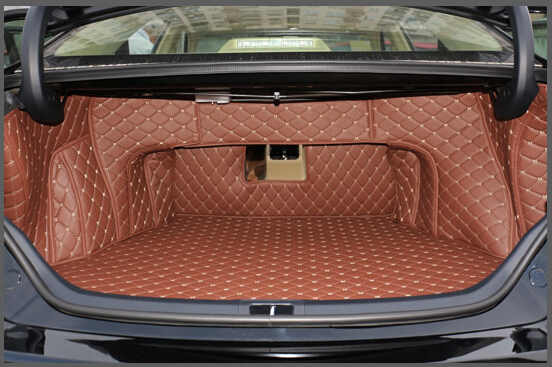 Хорошее качество! Специальные материалы ствола для Toyota Camry 2017 водонепроницаемые ботинки ковры грузового лайнера коврик для Camry 2016-2012, Беспла...