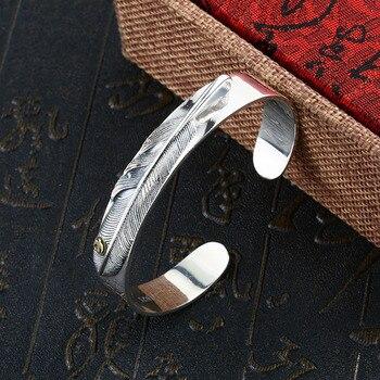 Beier Bracelet fashion romantic Fine widened feather Bracelet Bracelet man and women bracelet BR925SZ074 фото