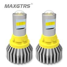 2x1156 BA15S LED T15 W16W 7440 W21W P21W 3030 لمبة Led عكس ضوء في Canbus 921 912 CSP رقاقة احتياطية بدوره مصباح إشارة مصباح