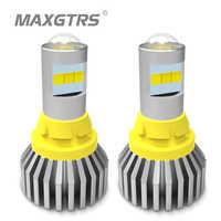 2x1156 BA15S LED T15 W16W 7440 W21W P21W 3030 bombilla Led de luz inversa Canbus 921 912 CSP CHIP de reserva de luz de señal de giro