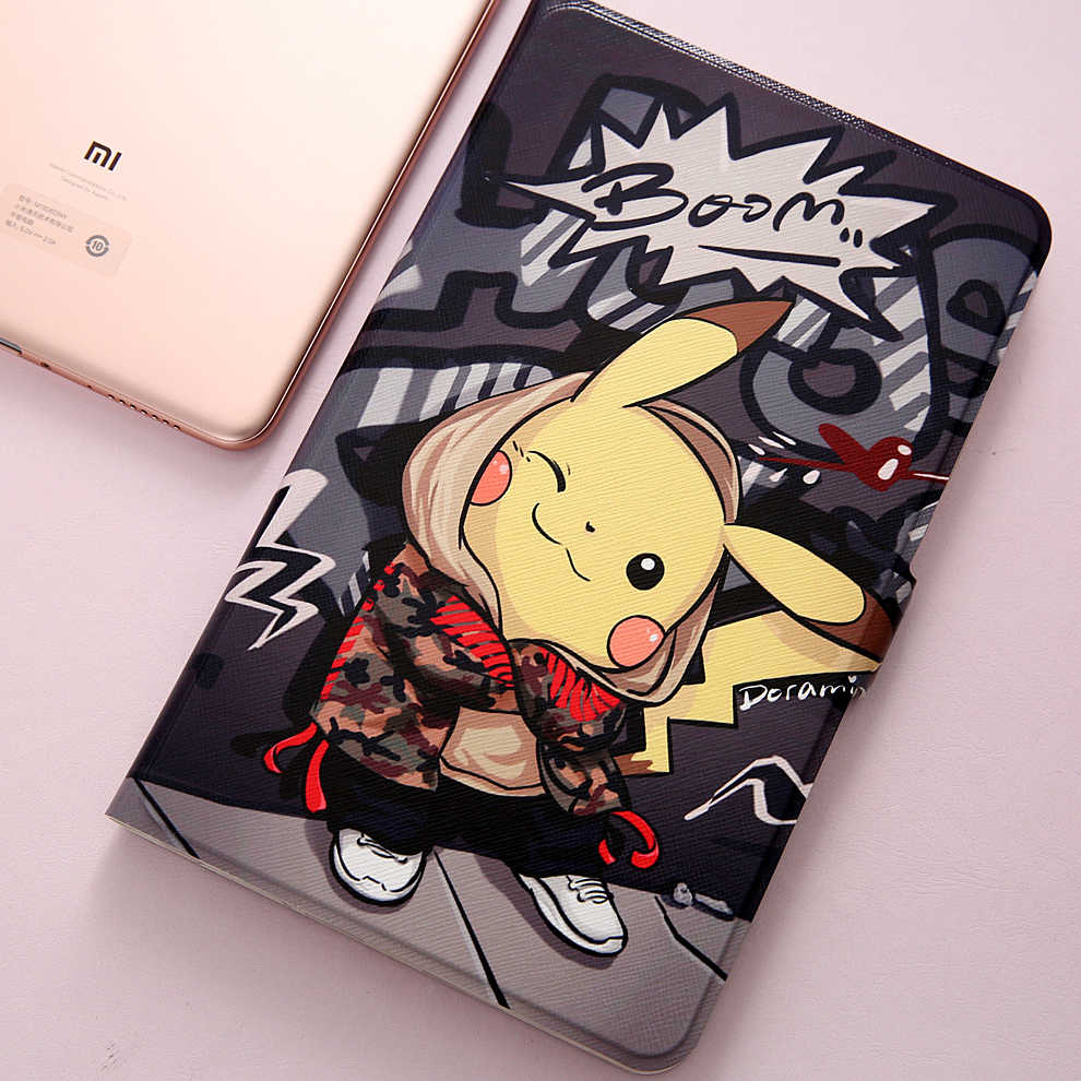 Mode Geschilderd Flip Case Voor Xiao mi mi pad 4 plus case 10.1 inch tablet cover Case Voor xiao Mi mi pad 4 plus/mi pad4 plus 10.1