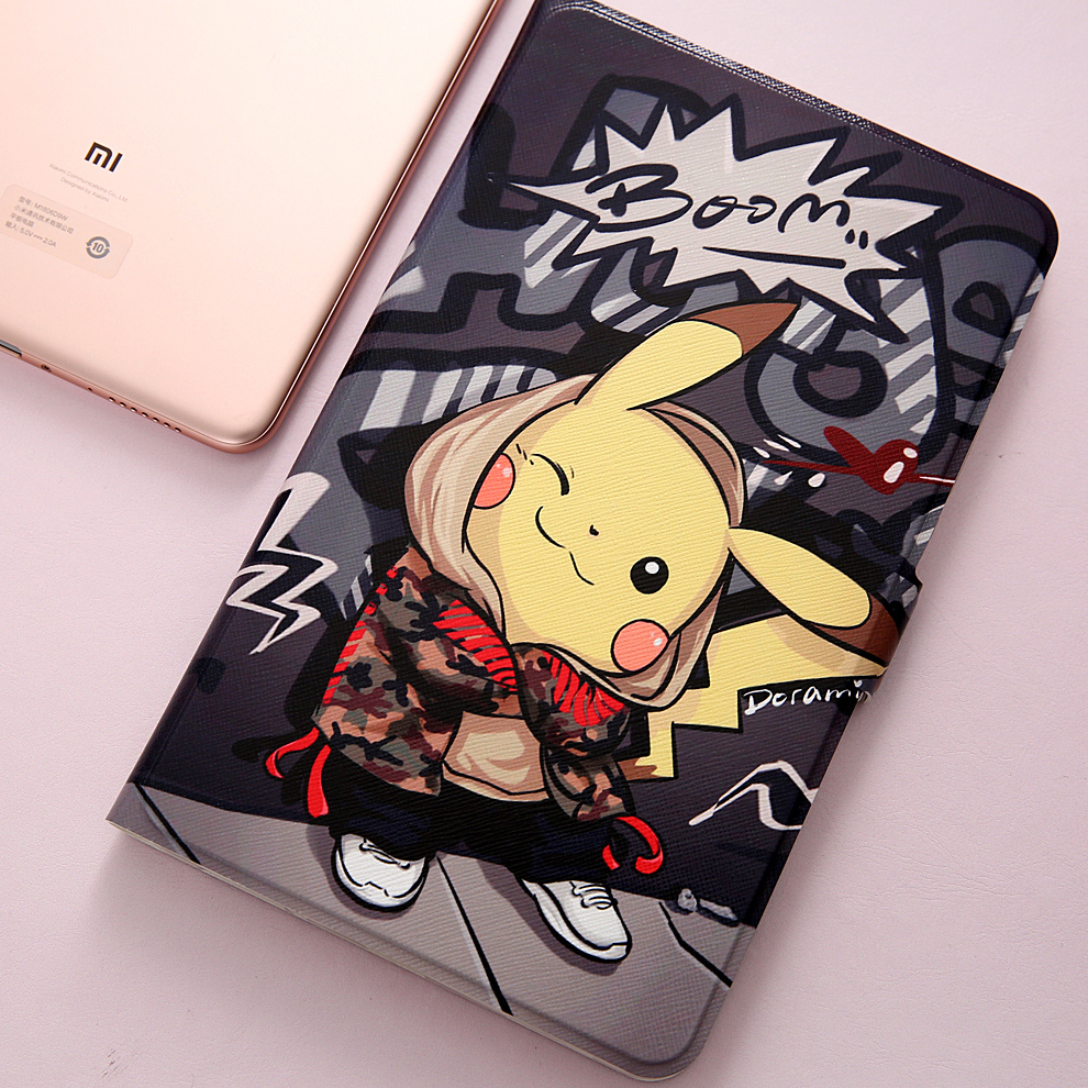 Fashion Painted Flip Case For Xiaomi Mi Pad 4 Plus Case 10.1 Inch Tablet Cover Case For Xiaomi Mipad 4 Plus / Mi Pad4 Plus 10.1