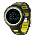 SUNROAD Digital Watch Men Sports Watches with Altimeter Barometer Compass Pedometer Thermometer 5ATM Waterproof Led Watch Male