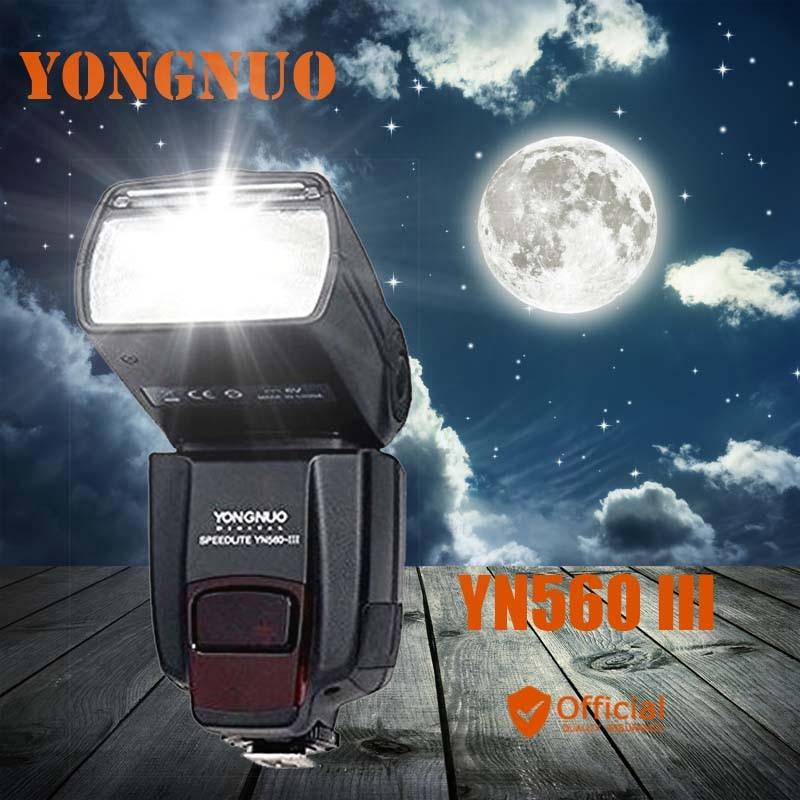 YONGNUO YN560 III 2.4G Sans Fil Flash Speedlite pour Canon EOS 1Ds 1D Marque IIN 40D 50D 60D 77D 7D 6D 5D Mark III 5D2 1100D 600D