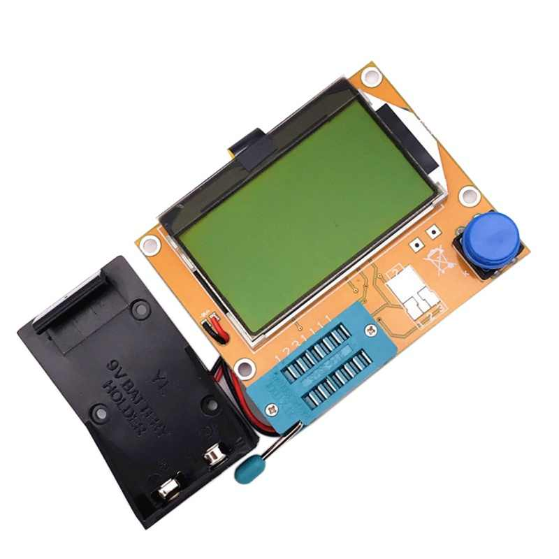 Spot LCD Digitale Transistor Tester Meter LCR-T4 Backlight Diode Triode Capaciteit ESR Meter Voor MOSFET/JFET/PNP/ NPN L/C/R