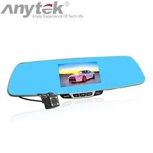 Promo offer Original Anytek T6 Car DVRs 1080P HD Car Camera Video Recorder Dash Cam Dual Lens Registrator Registrar Blue Rearview Mirror