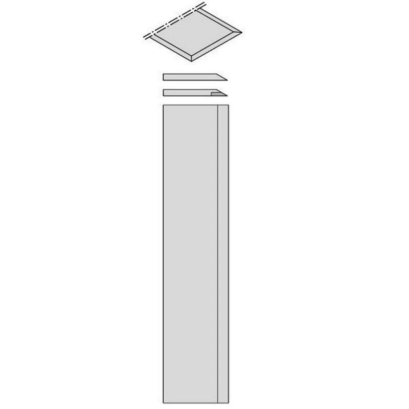 CMT 792.612.30-juego 2 lames de coupe HS HW 610x30x3 pour rabot