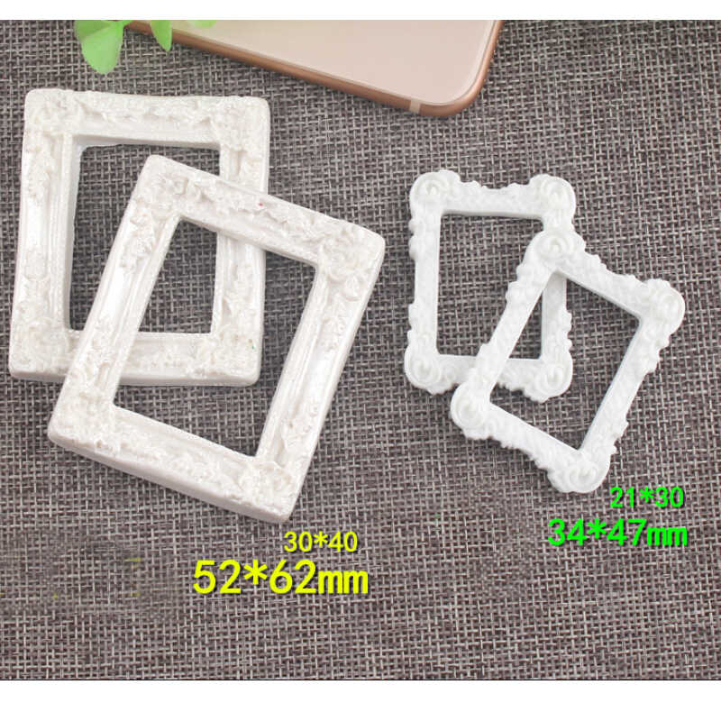 CCINEE Mini Photo Frame Resin Jelly Water Droplets Diy Resin Accessories DIY Craft Supplies