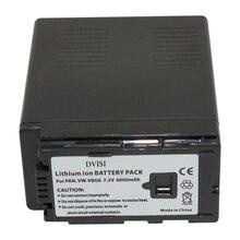 1 шт. 7.2 В 6000 мАч vw-vbg6 vwvbg6 vw vbg6 аккумулятор камеры для panasonic литий-ионный аккумулятор ag-hmc154er hmc154gk ag-hmc154p