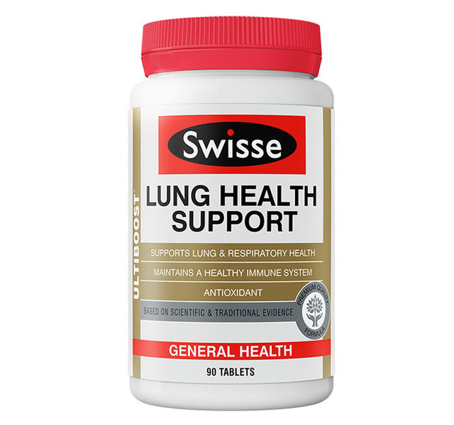 Free shipping Swisse LUNG HEALTH SUPPORT 90 tablets
