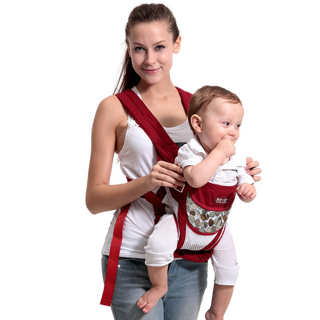 Hot Sell Baby Carrier Backpack Sling Newborn Bag Baby Wrap Multifunctional Baby Waist Stool Hip Seat Backpack Labor saving