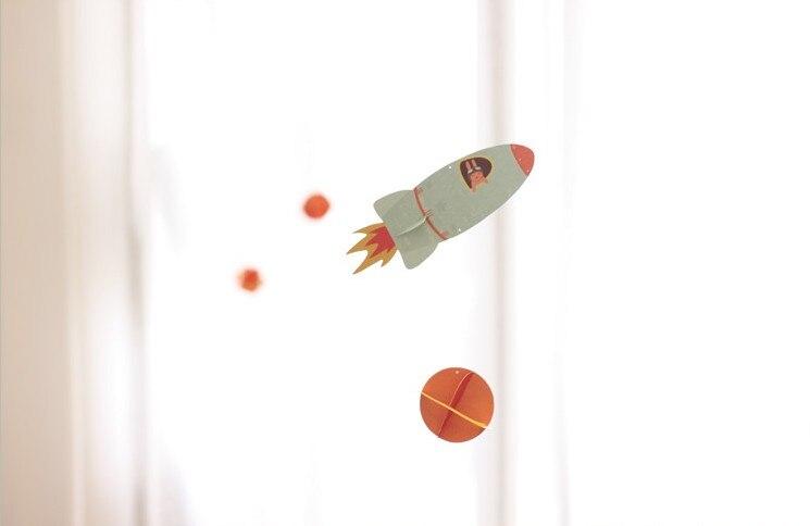 Rakete U0026 Planeten Papier Handwerk Geburtstag Dekorationen Kinder Baby  Duschen Hängen Kinderzimmer Dekoration Kindertages Papier Decor In Rakete U0026  Planeten ...