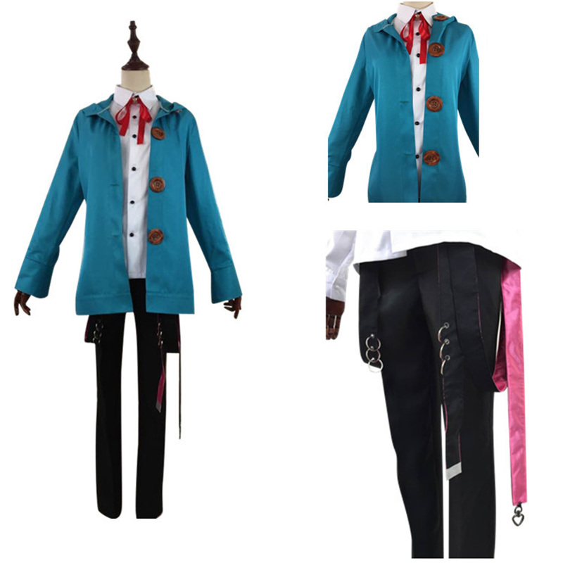 Division Rap Battle Hypnosis Mic Amemura Ramuda Cosplay Costume Uniforms Suits Outfits Full Set in Anime Costumes from Novelty Special Use